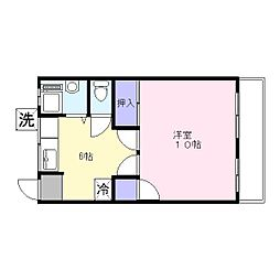 第一共同ビル[5階]の間取り