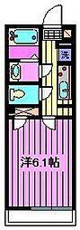 コンフォート桜木[112号室]の間取り