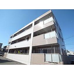 静岡県静岡市駿河区登呂の賃貸マンションの外観
