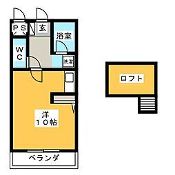 ビクトリアハウスYOKOI[1階]の間取り