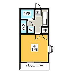 メゾンドフォーレ壱番館[1階]の間取り