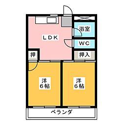 三鈴ノール[3階]の間取り