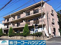 東京都あきる野市原小宮の賃貸マンションの外観
