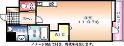 KDXレジデンス舟入幸町[702号室]の間取り