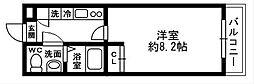 Chez-soi[303号室]の間取り