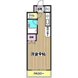 ソフィアステージ豊田[1階]の間取り