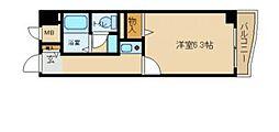 兵庫県尼崎市武庫川町2丁目の賃貸マンションの間取り