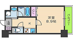 ジューム神山[3階]の間取り