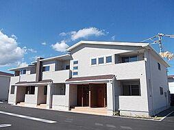 徳島県板野郡藍住町富吉字地神の賃貸アパートの外観