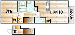 ラ・マカイ・ハレアカラ[2階]の間取り