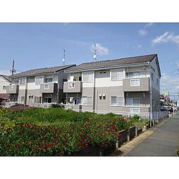 静岡県浜松市中区高丘北2丁目の賃貸アパートの外観