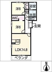 仮)S様賃貸マンション[1階]の間取り