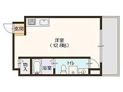 アドバンス心斎橋NEXTURE[5階]の間取り