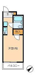 TOP・馬橋第3[3階]の間取り