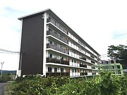 岡山県岡山市北区建部町中田の賃貸マンションの外観