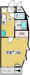 上戸田壱番館[401号室]の間取り
