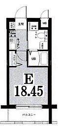 グリフィン横浜・海岸通り[4階]の間取り