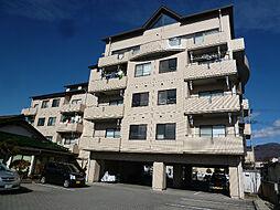 長野県諏訪市高島2丁目の賃貸マンションの外観