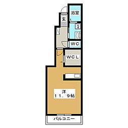 プリート[1階]の間取り