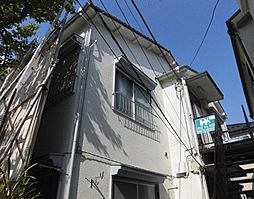 東京都北区赤羽西3丁目の賃貸アパートの外観