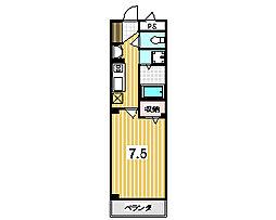 Primero TAKANO[202号室]の間取り