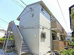 神奈川県茅ヶ崎市幸町の賃貸アパートの外観