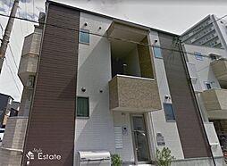 愛知県名古屋市中区橘1丁目の賃貸アパートの外観
