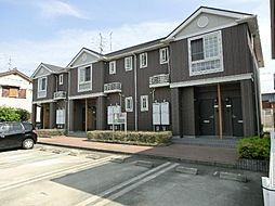 愛知県北名古屋市沖村天花寺の賃貸アパートの外観