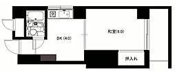 ルネッサンス広川[305号室]の間取り