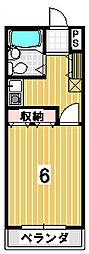 アメニティハウス[305号室]の間取り