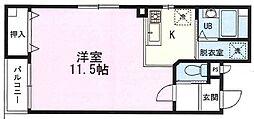 プラネックスII[1階]の間取り