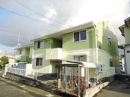 広島県東広島市西条中央 6丁目の賃貸アパートの外観