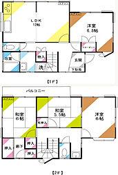 [一戸建] 埼玉県さいたま市南区太田窪4丁目 の賃貸【埼玉県 / さいたま市南区】の間取り