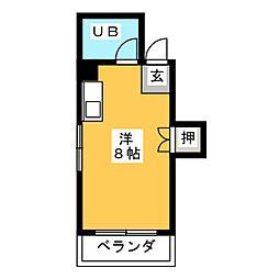 インテリジェント神宮[5階]の間取り