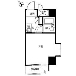 ライオンズマンション三軒茶屋第六[6階]の間取り