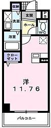 アバンツァート[102号室]の間取り