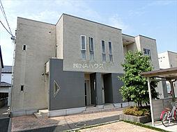 埼玉県北足立郡伊奈町西小針3丁目の賃貸アパートの外観