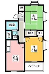 ラベンダー湘南I[2階]の間取り