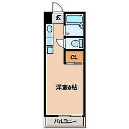 クローネ21[2階]の間取り
