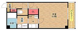中野ビルII[4階]の間取り