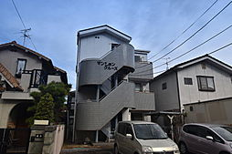 大阪府柏原市法善寺3丁目の賃貸マンションの外観