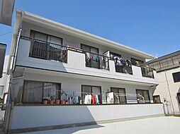 広島県安芸郡海田町稲葉の賃貸アパートの外観