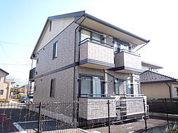 長野県松本市沢村1丁目の賃貸アパートの外観