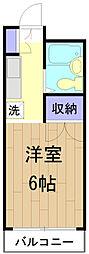 メゾンSEIWA[3階]の間取り