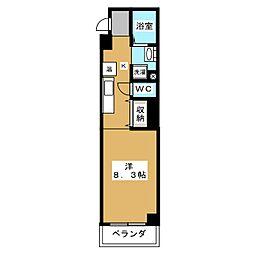 リテラ竹屋町[2階]の間取り