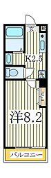 雨田ロイヤルパレスビル[3階]の間取り