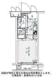 シンシティー板橋大山[3階]の間取り