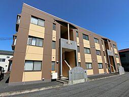 埼玉県草加市青柳5丁目の賃貸マンションの外観