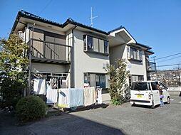 東京都町田市高ヶ坂6丁目の賃貸アパートの外観