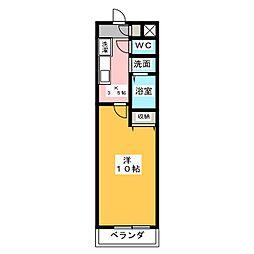 マメゾン24[3階]の間取り